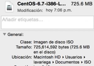 ISO Centos