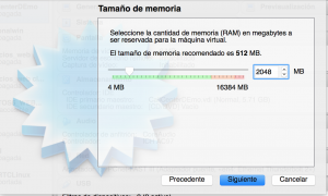 Memoria RAM Centos