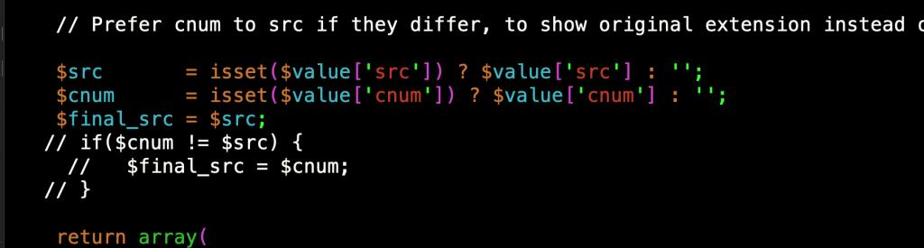 función  formatCallRecordingTuple