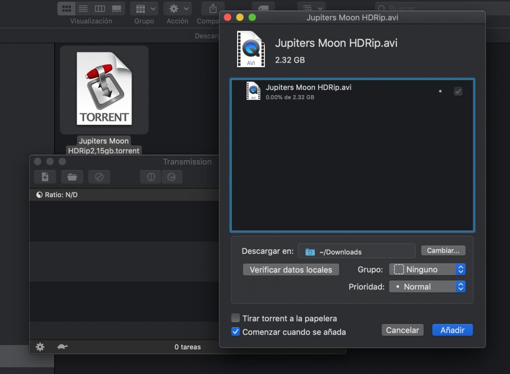 Descargar torrent desde mac