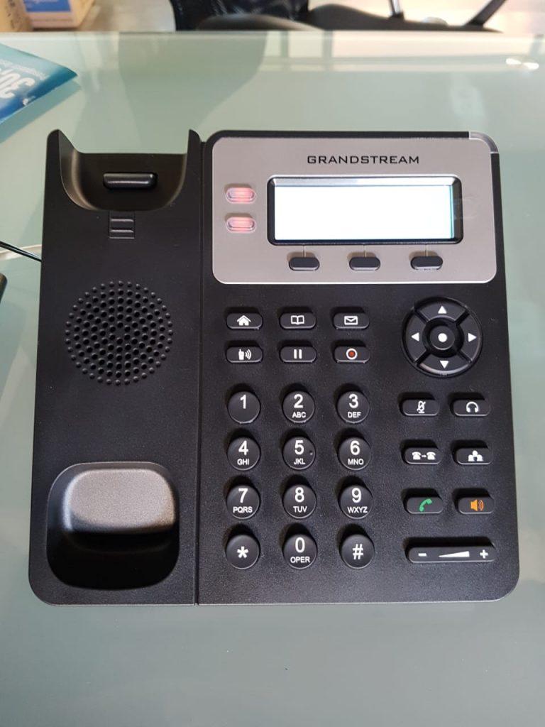 telefonos-grandstream-no-prende