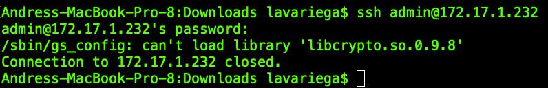 libcrypto.so.0.9.8 Grandstream